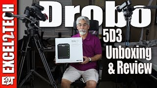 Drobo 5D3, The Thunderbolt 3 Storage, best for MacBook Pro