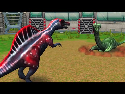 Jurassic Park Builder - Battle Arena (Stage 1 to 50) : All DINOSAURS HD