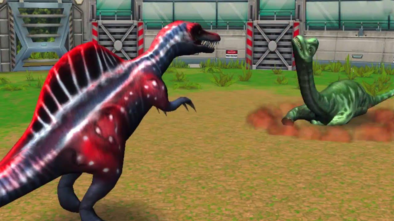 Allosaurus Roblox Jurassic Park Jurassic Park Builder Battle Arena Stage 1 To 50 All Dinosaurs Hd Vloggest