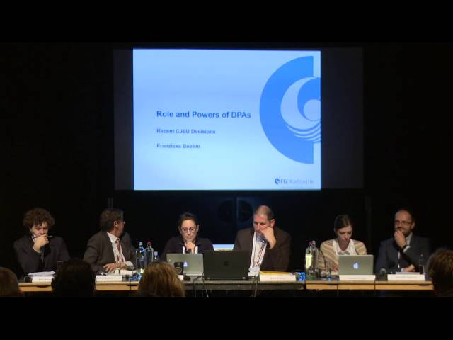 CPDP 2016: The role and power of DPAS - Between CJEU and GDPR.