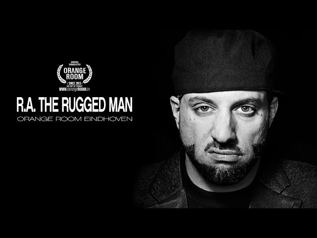 R.A. THE RUGGED MAN x ORANGE ROOM EINDHOVEN