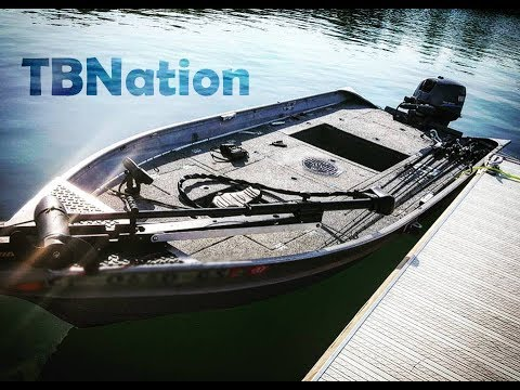 BADDEST 14 foot Micro Bass Boat on the planet! /Jon Boat to Bass boat/ #TBNation
