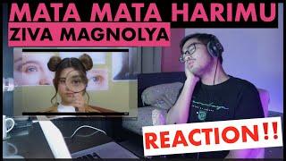 Download lagu REACTION! Ziva Magnolya - Mata-Mata Harimu (Official Music Video) | Rizky Haeruman