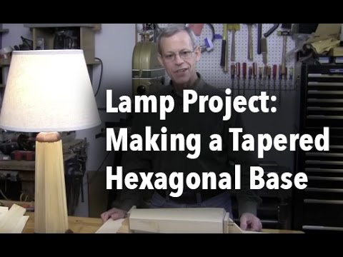Making a Hexagon Tapered Column