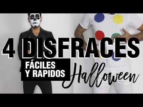 DISFRACES FACILES PARA HALLOWEEN DE ULTIMO MINUTO | STREET PEPPER