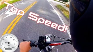 SSR Pit Bike Top Speed!