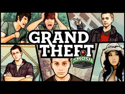 HIJACKING COP CARS (Grand Theft Smosh)