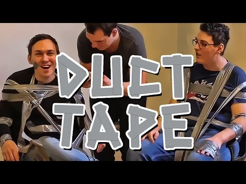 DUCT TAPE CHALLENGE - Lørdagskos Med Prebz Og Dennis