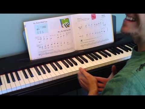 Piano Tutorial - Hey, Mr. Half Note Dot - Primer Level - Lesson