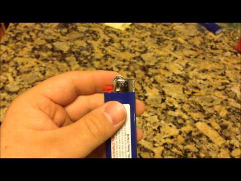 Removing the Child Safety Device from a Bic Lighter
