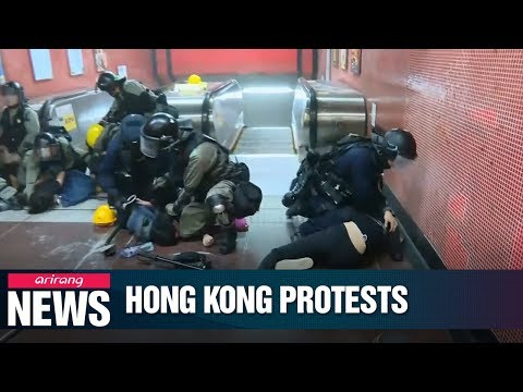 Hong Kong court issues interim injunction restricting violent acts in public railway