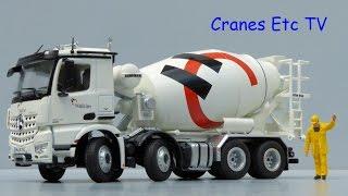 NZG Mercedes-Benz Arocs Mixer Truck