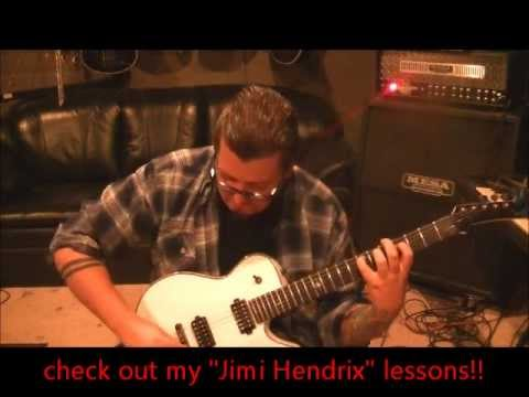 Stevie Ray Vaughan - Riviera Paradise - Guitar Lesson by Mike Gross
