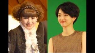 女優の満島ひかりさんと黒柳徹子さんが21日、東京・渋谷のNHKで行われた...