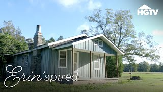 $12,000 Home Gets a Gorgeous Renovation | Erin'spired | HGTV