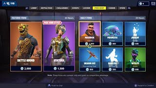 NEW FORTNITE ITEM SHOP UPDATE! FREE WALMART SPRAY CODES GIVEAWAY! (Fortnite Battle Royale)