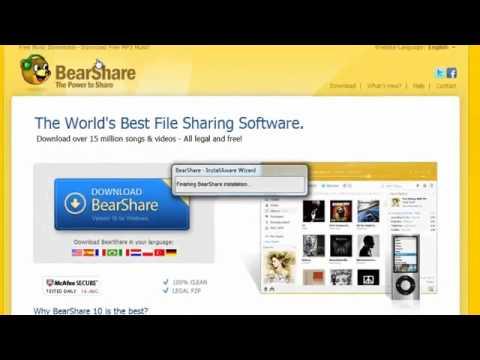 BearShare Müzik ve Video İndirme