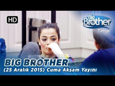 Big Brother Türkiye (25 Aralık 2015) Cuma Akşam Yayını - Bölüm 32
