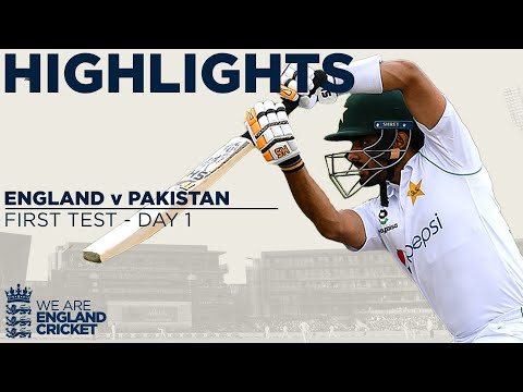 Day 1 Highlights | England Frustrated by Rain as Babar Impre