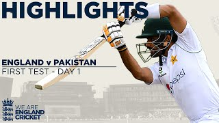 Day 1 Highlights | England Frustrated by Rain as Babar Impresses | England