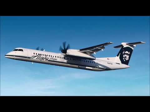 ATC Audio Alaska Horizon Dash 8 Q400 Hijacked  Employee