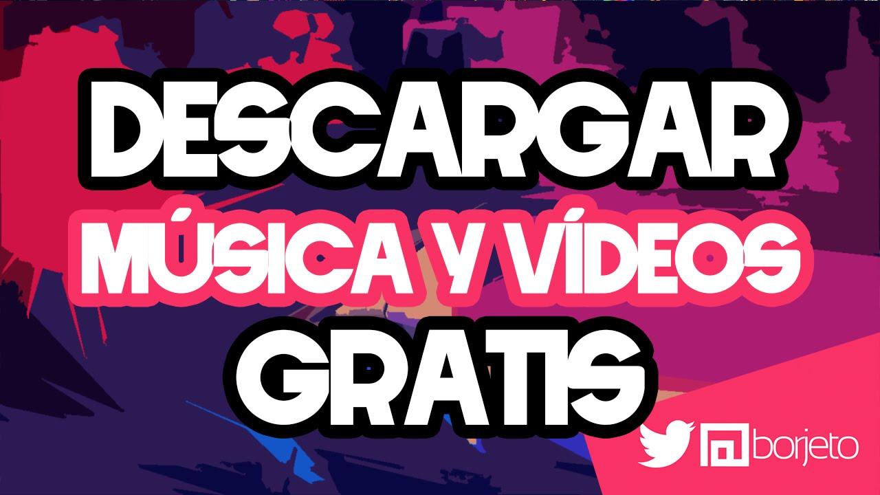 youtube para descargar música y vídeos
