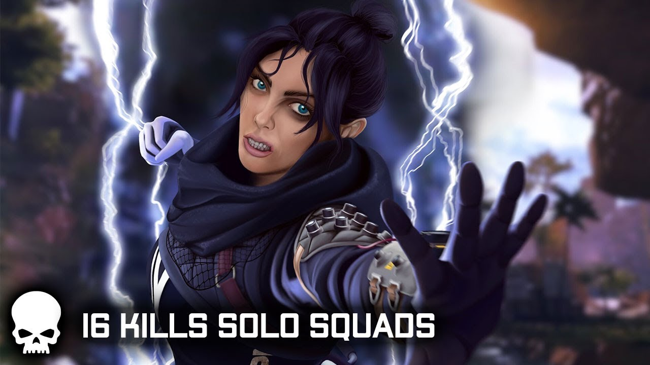 Apex Legends Solo Squads Win!