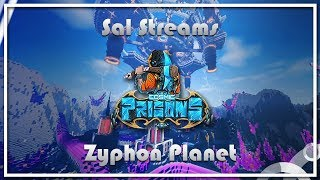 HOW TO GANK IN DIAMOND SETS (3 GOD KILLS) Cosmic Prisons -Zyphon Planet- [ep.14]