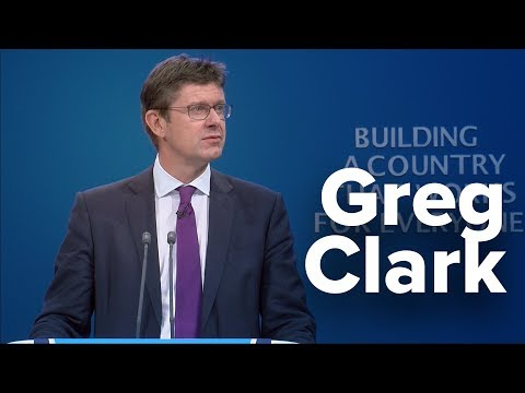 Greg Clark: Speech to Conservative Party Conference 2017