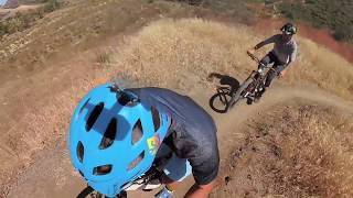 Riding with Cam Zink on the YT Jeffsy at the USA Headquarters