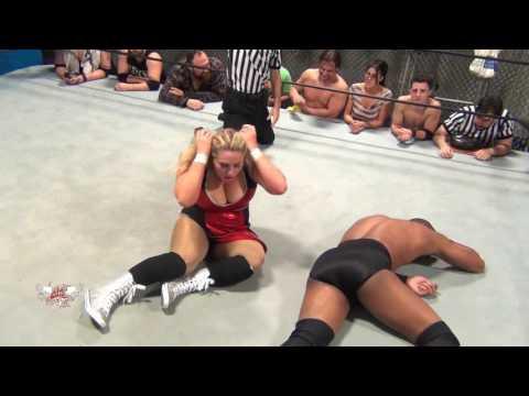 FREE MATCH Intergender Match Brooke Danielle v Darius Carter