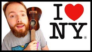 New York, New York - Frank Sinatra (Ukulele Tutorial)