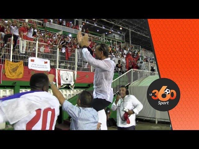 Le360.ma • فرحة، تصريحات عفوية و دموع اللاعبين بعد نهاية مقابلة الكوت ديفوار