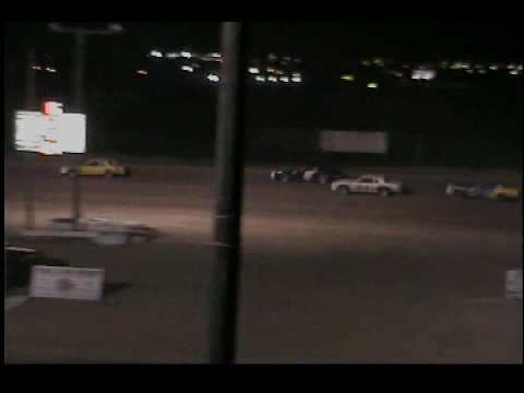 Texas Thunder Speedway 7-31-10 IMCA Stock Car Feature Last 10 Laps