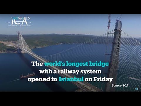 Yavuz Sultan Selim Bridge opens