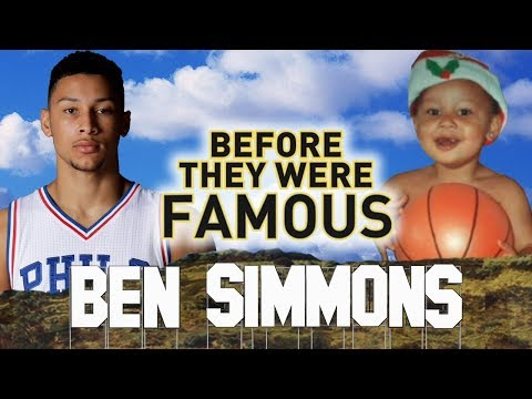 BEN SIMMONS - Before They Were Famous - Philadelphia 76ers
