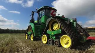 John Deere 9RX 9620RX working in Norfolk England