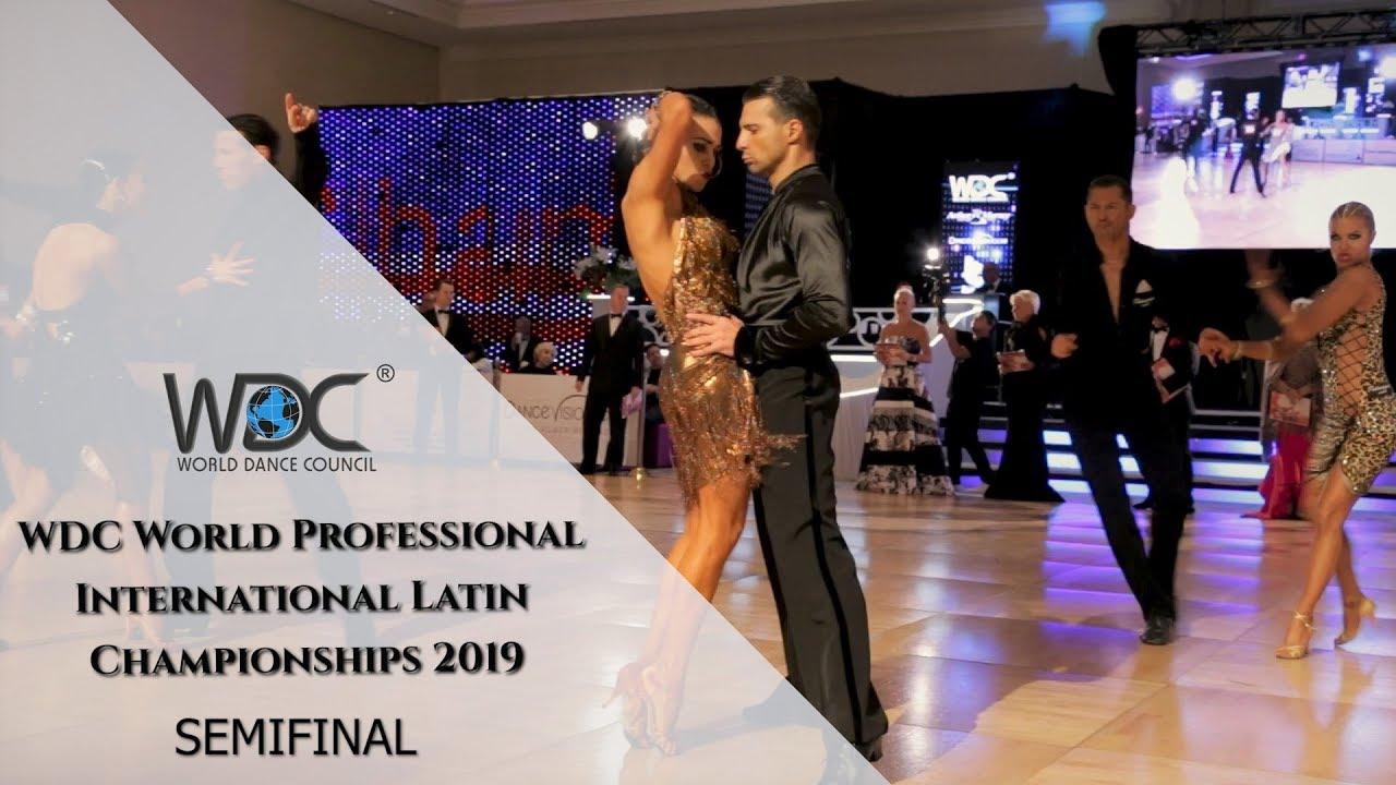 WDC World Professional Latin Championship I Semifinal I 2019