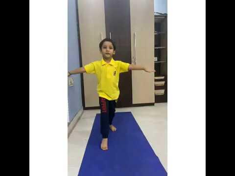 this quarantine calm down and exercise  trending kid yoga