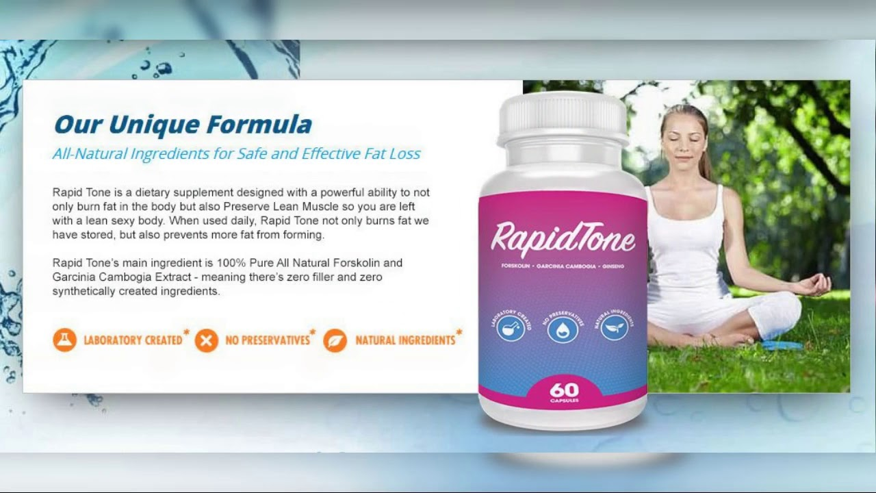 Rapid Tone Weight Loss Reviews Shark Tank Diet Pills For Slim Attractive Figure
