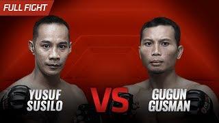 [HD] Yusuf Susilo vs Gugun Gusman ||  One Pride FN #35