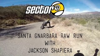 Santa Gnarbara Raw Run with Jackson Shapiera