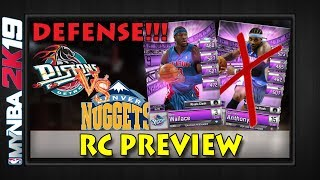 FINALLY SOME DEFENSE!!   Rivals Clash Preview Wallace vs Anthony   MYNBA2K19