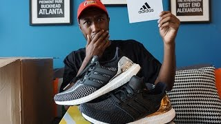 unboxing adidas ultra boost medal metallic pack