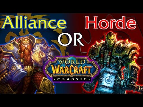 Which Classic WoW Faction Should You Pick