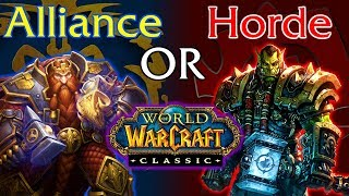 Which Classic WoW Faction Should You Pick?