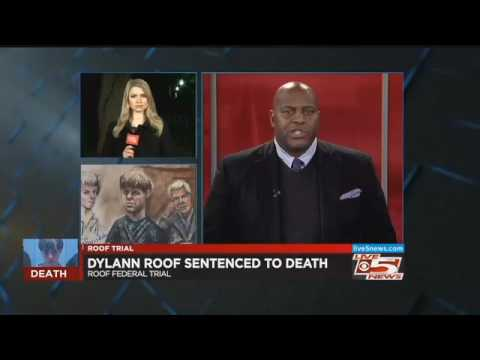 Jury decides Dylann Roof should be put to death for church shooting