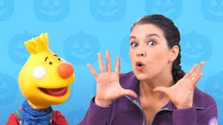 Can You Make A Happy Face?   Happy Halloween from  Sing Along With Tobee