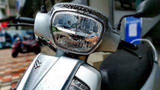 2020 Suzuki Access 125 BS6 (Standard) | Metallic Matte Platinum Silver | Walkaround Review