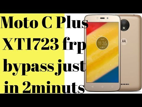 firmware Moto C Plus - Myhiton